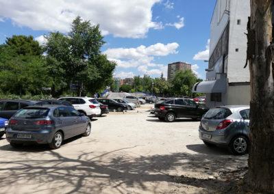 Calle Sierra Toledana con El Bosco