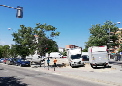 Calle Javier de Miguel y Martínez de la Riva