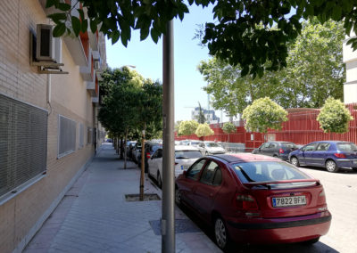 Calle Eduardo Rojo y entorno