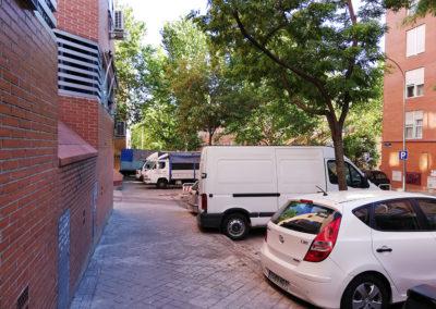 Calle Pablo Neruda y Santos Inocentes